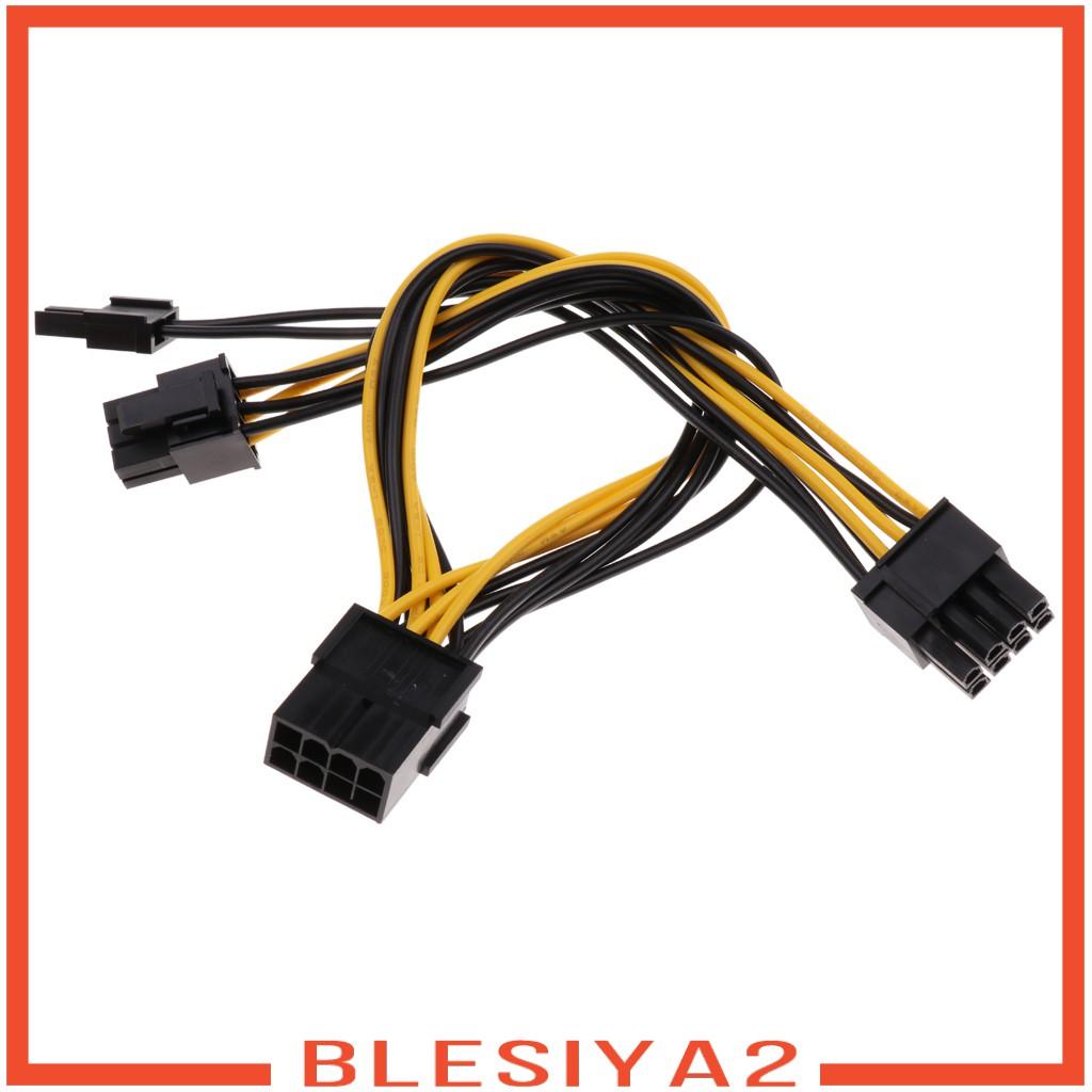 POWER (Hàng Mới Về) Dây Cáp Đồ Họa Pci-E 8 Pin Sang 2x8 Pin / Pcie 8 Pin-2X (6 + 2pin)