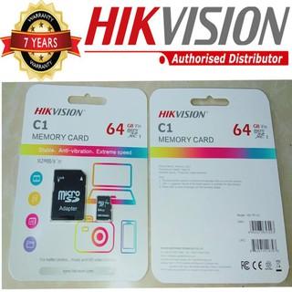 [Mã ELFLASH5 giảm 20K đơn 50K] Thẻ nhớ chuyên dụng dùng riêng cho Camera giám sát đọc ghi tốc độ cao Hikvision 64GB