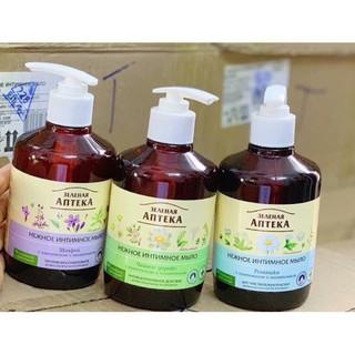 Dung Di ch Vê Sinh Phu Nư Green Pharmacy Zelenaya Anteka Da ng Gel 370ml Nga thumbnail