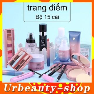 Bộ trang điểm 15 món cao cấp 15pcs BEOTUA Bộ mỹ phẩm trang điểm -BEOTUA-01 thumbnail