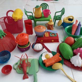 Đồ chơi nhà bếp bé gái 🌈FREESHIP🌈 Đồ chơi trẻ em bán theo Kg
