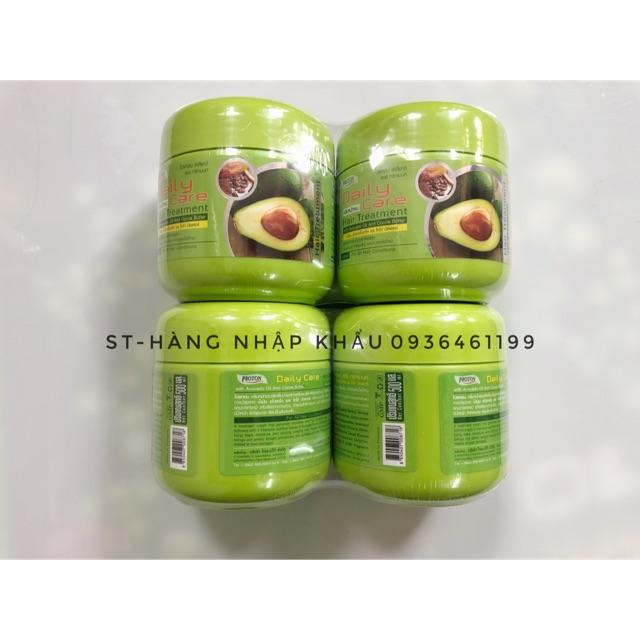 COMBO 2 lọ Kem ủ tóc bơ Thái Lan siêu mượt Daily Care 500g