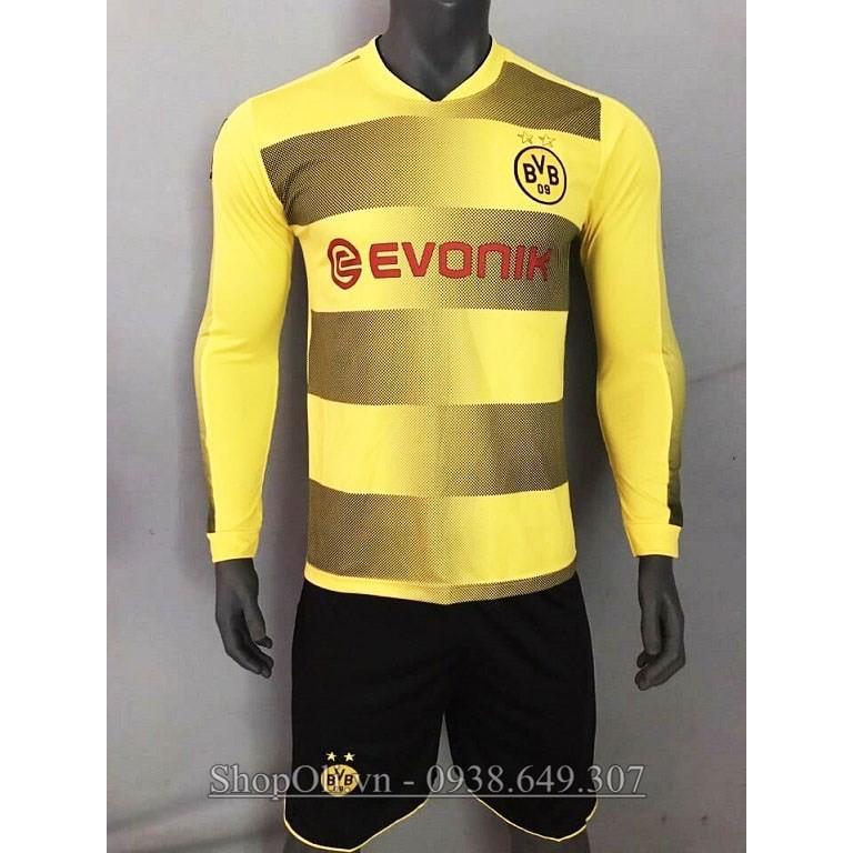 Quần áo đá bóng tay dài clb Dortmund sân nhà màu vàng 2017-2018 - 3051373 , 316658957 , 322_316658957 , 120000 , Quan-ao-da-bong-tay-dai-clb-Dortmund-san-nha-mau-vang-2017-2018-322_316658957 , shopee.vn , Quần áo đá bóng tay dài clb Dortmund sân nhà màu vàng 2017-2018