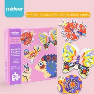 Bộ ghép hình My frist puzzle – My garden animal của Mideer