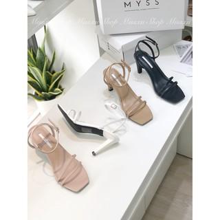 Giày sandal quai ngang mảnh 2 dây 7cm Myss - SD85 thumbnail