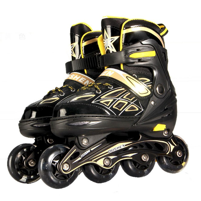 Giày trượt patin bánh xe phát sáng, OUSHEN ( bảo hành 3 tháng )