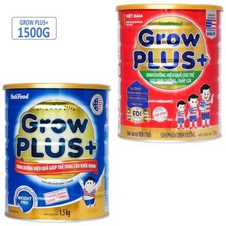Sữa Grow Plus Nutifood Xanh , Đỏ Lon 900g và 1,5kg [ date luộ mới ] thumbnail
