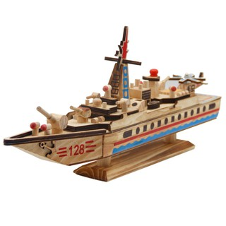 Western Wooden Sailboat Simulation Aircraft Carrier Ship Model Ships Educational