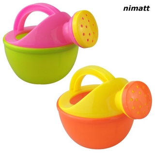 NI Baby Bath Toy Plastic Watering Can Watering Pot Beach Toy Play Sand Toy Gift for Kids Random Color