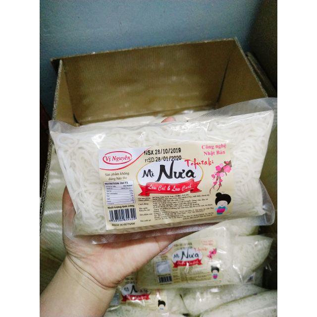 Mì Nưa ăn kiêng 240gkhông carb ăn kiêng Keto/Das