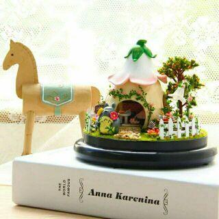 Mô hình nhà gỗ búp bê dollhouse DIY – B015 Totoro Green Garden