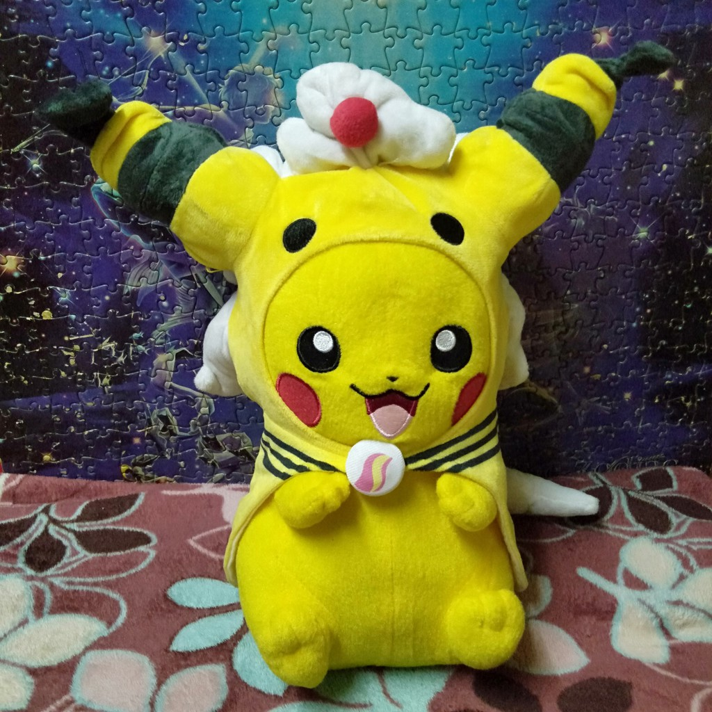 Pikachu cosplay Denryu Mega