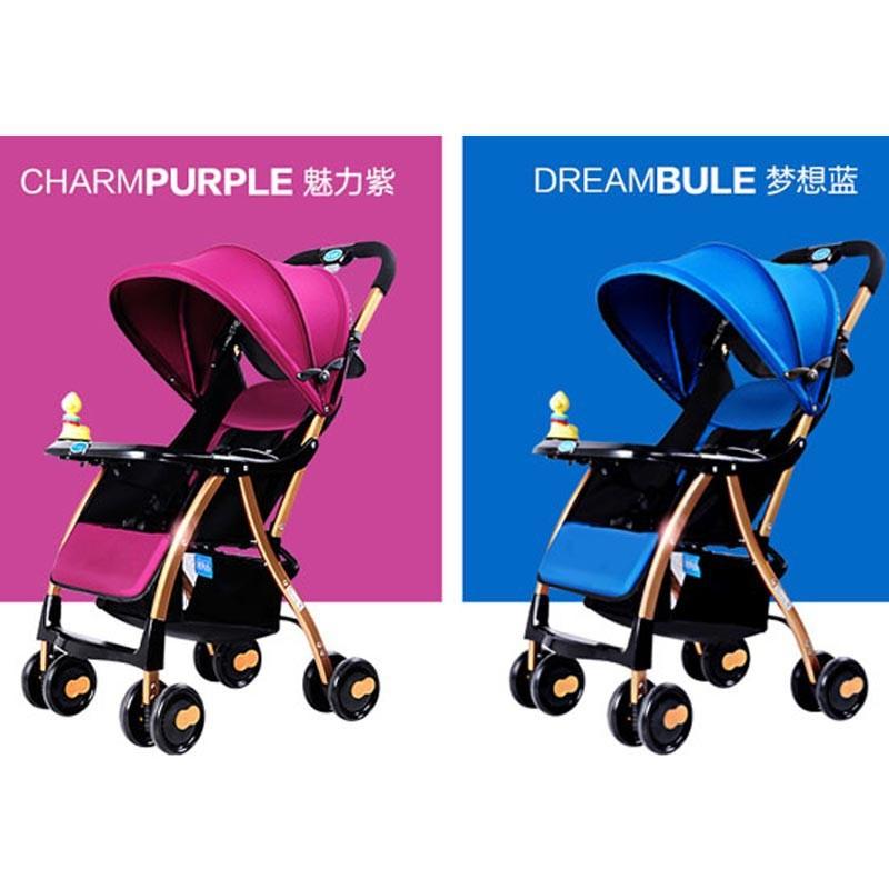 Xe đẩy cho bé 3 tư thế Baobaohao A1