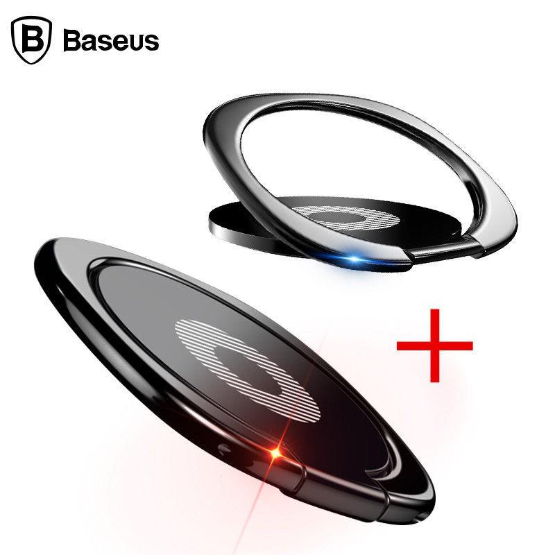 BASEUS Set 2 Nhẫn Đỡ Điện Thoại Xoay 360 Độ Samsung