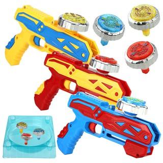 Đồ chơi trẻ em con quay hồi chuyển súng chiến đấu cơn bão tinh thần sản phẩm mới hợp kim phát sángUYDF thumbnail