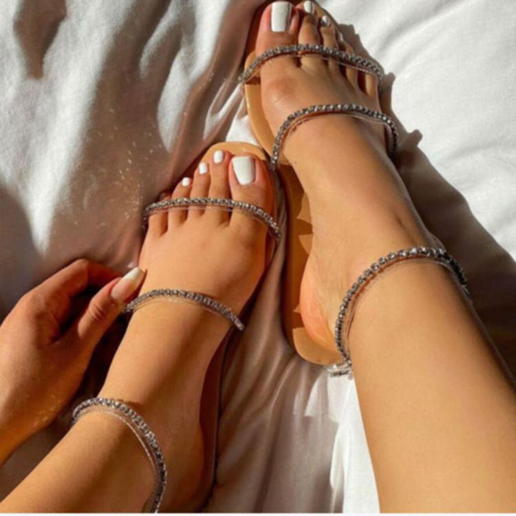 Giày Sandal Hở Ngón Thời Trang Dành Cho Bạn Nữ