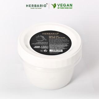 Kem ủ tóc bồ kết & vỏ bưởi herbario 200ml thuần chay thumbnail