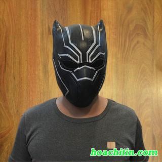 Mặt nạ cao su báo đen Black Panther