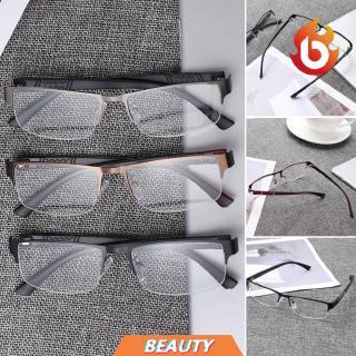BEAUTY Magnifying Flexible Portable Ultra Light Resin Eye wear Metal Titanium Alloy Business Reading Glasses