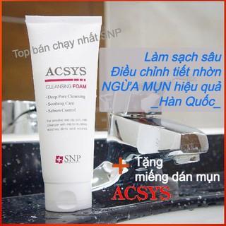 Sữa Rửa Mặt Da Mụn SNP ACSYS Sạch nhờn ngừa mụn