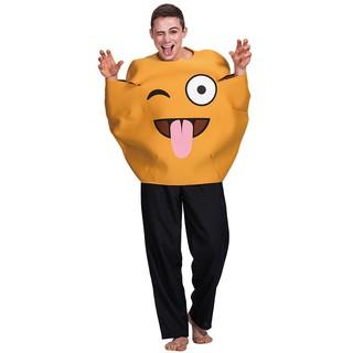 Trang Phục Hóa Trang Halloween Hình Quả Bí Đỏ Ngộ Nghĩnh