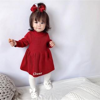 Váy Len Cho Bé Gái, Đầm Len Cho Bé Gái