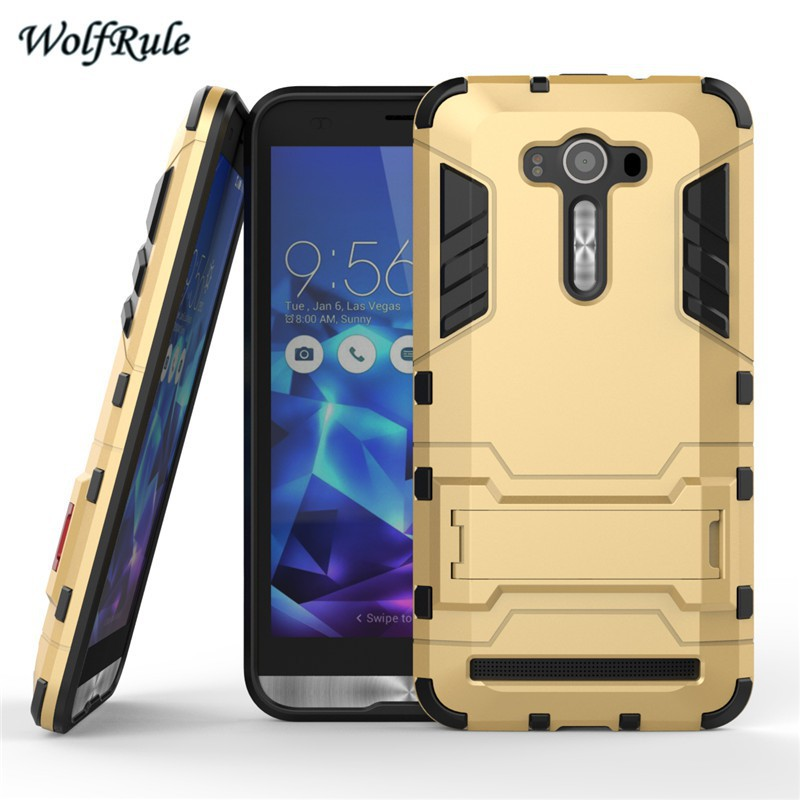 Asus Zenfone 2 Laser Ze550KL Case 5.5 inch Cover PC & Silicone Armor Shockproof