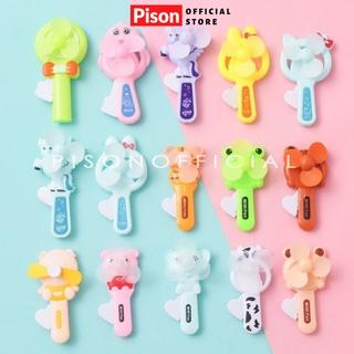 Quạt tay mini tự xoay mùa hè mát mẻ cho bé chính hãng Pison