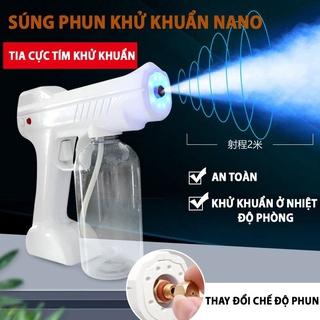 [ BẢO HÀNH 12 THÁNG ] SÚNG XỊT KHỬ KHUẨN ATOMIZER NANO 8 LED - Máy phun khử khuẩn 99,99% [ LOẠI TO ] thumbnail