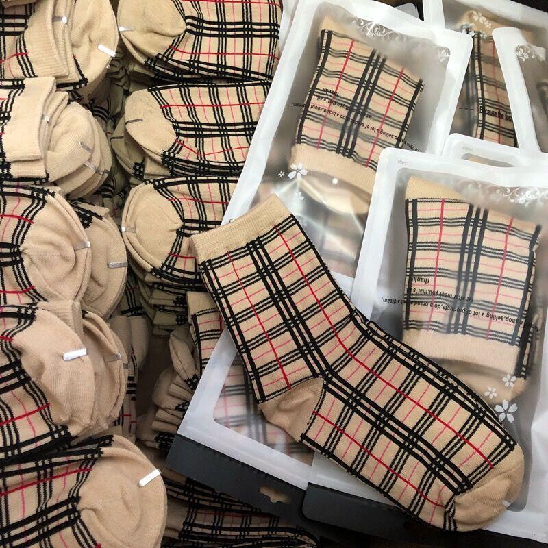 d burt rry color ins ระเบิดรุ่น retro สกอตแลนด์ลายถุงเท้า