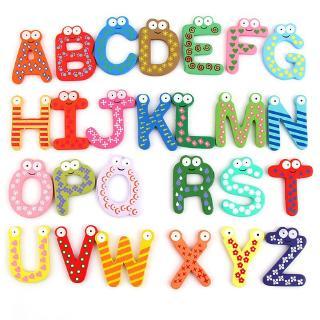 Set 26 chữ cái A-Z từ tính gắn tủ lạnh trang trí
