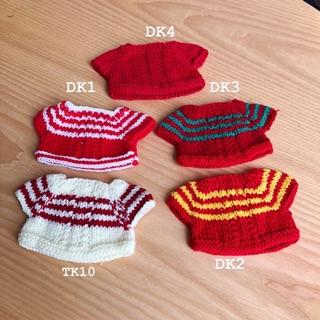 Outfit doll 20cm – Áo len mix các màu