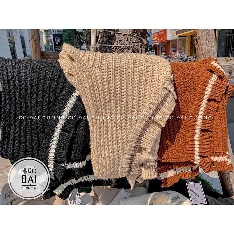 Áo len Ghile cổ rách kiểu (kèm ảnh thật,video) | SaleOff247