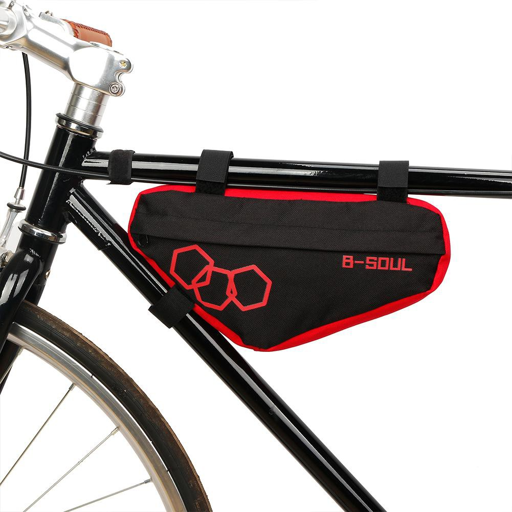 Outdoor Portable Mountain Bike Bag Triangle Bicycle Front Tube Hanging Frame Bag