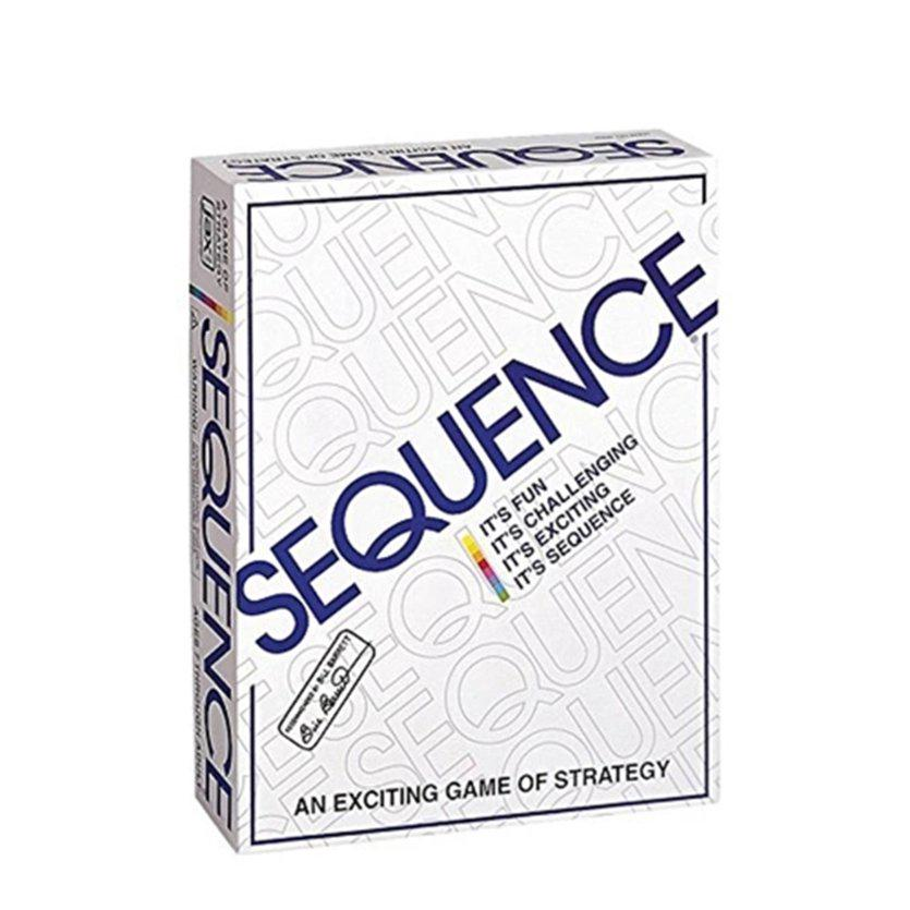 ⚡❄Party Games Sequence Playing Cards Game Strategy Game