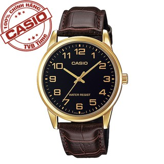 Đồng hồ nam dây da Casio Standard Anh Khuê MTP-V001GL-1BUDF