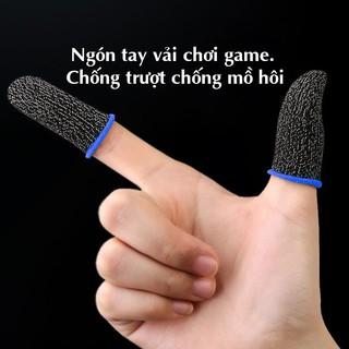 Ngón tay vải chơi game siêu nhạy chống trượt chống mồ hôi dành cho game thủ thumbnail