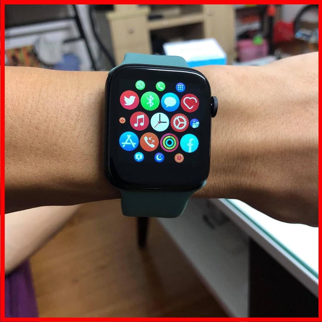 Đồng hồ thông minh T500 Seri 5 thay được dây | Kết nối Bluetooth có tiếng Việt | kích thước 44mm hỗ trợ đo nhịp tim