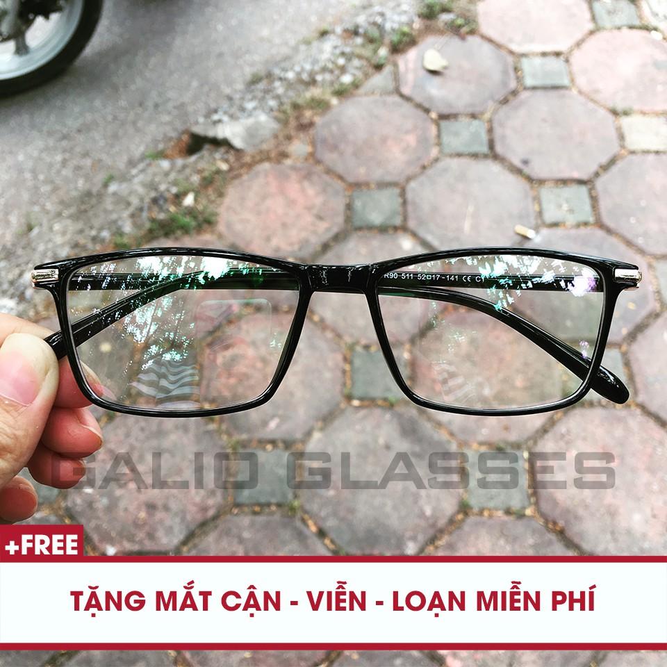 Kính cận nhựa dẻo Hàn Quốc 511 – Tặng mắt cận miễn phí