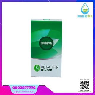 [Chính Hãng] Bao cao su Tâm Thiện Chí Ultrathin Longer (Hộp 12 Cái) TTC
