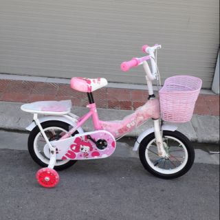 Xe đạp trẻ em cỡ 12 zoutu hồng tím cho bé gái 2-5t