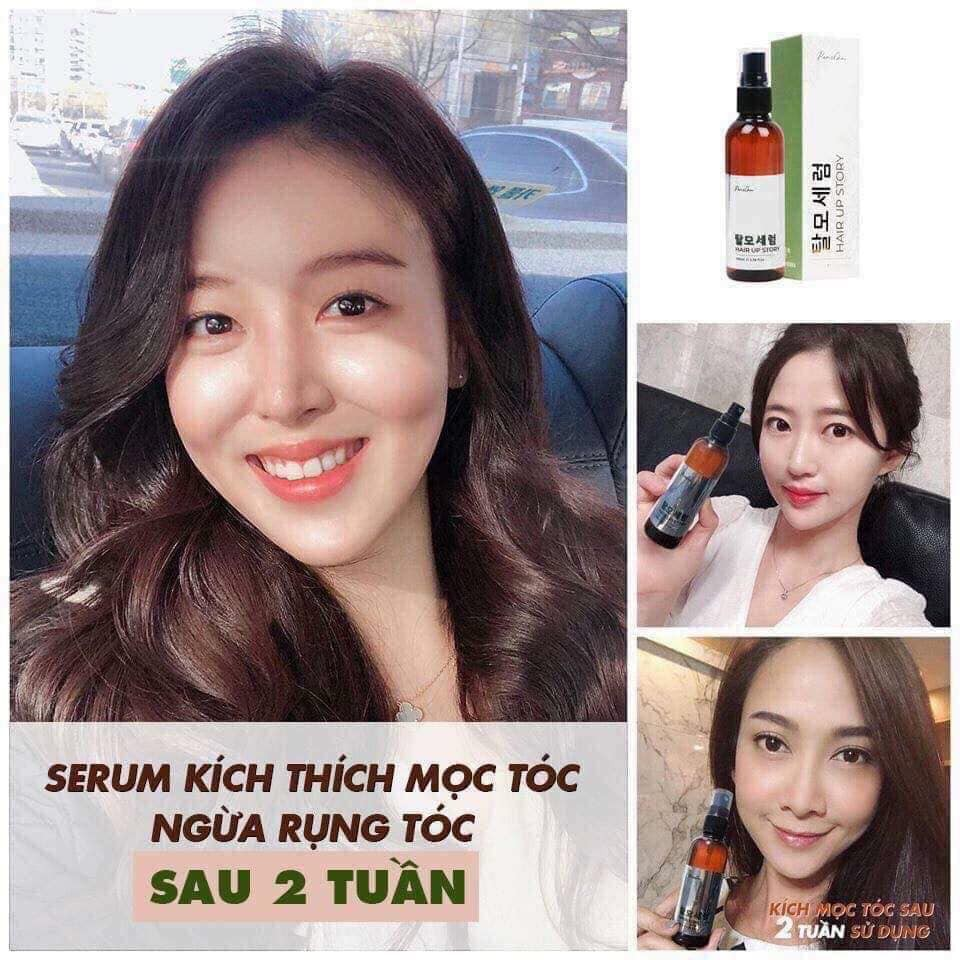 Tinh chất mọc tóc Genie Paris Choi Hair Up Story Hàn Quốc 100ml