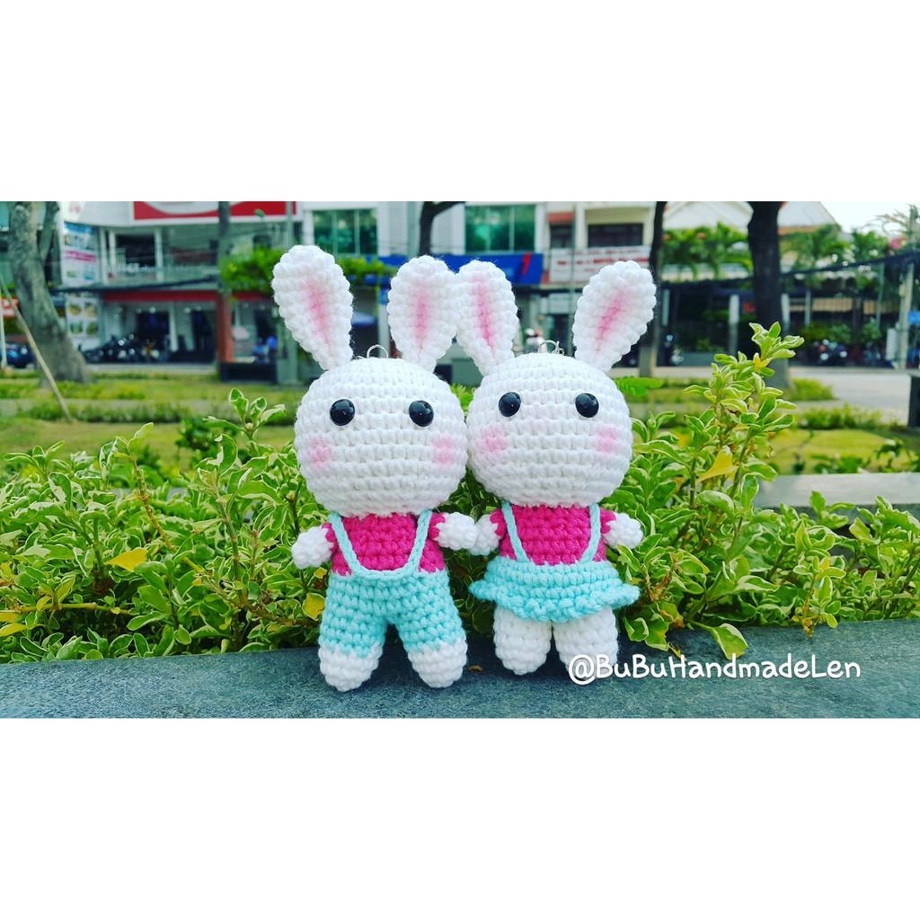 Thỏ Couple Đồ Đôi - Thú Len Handmade