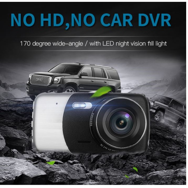 Camera Dual Lens 1080P Full HD Màn Hình 4 Inches 2560
