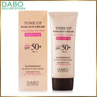 Kem lót nền chống nắng DABO Hàn Quốc Tone Up Base Sun Cream DTU12 thumbnail