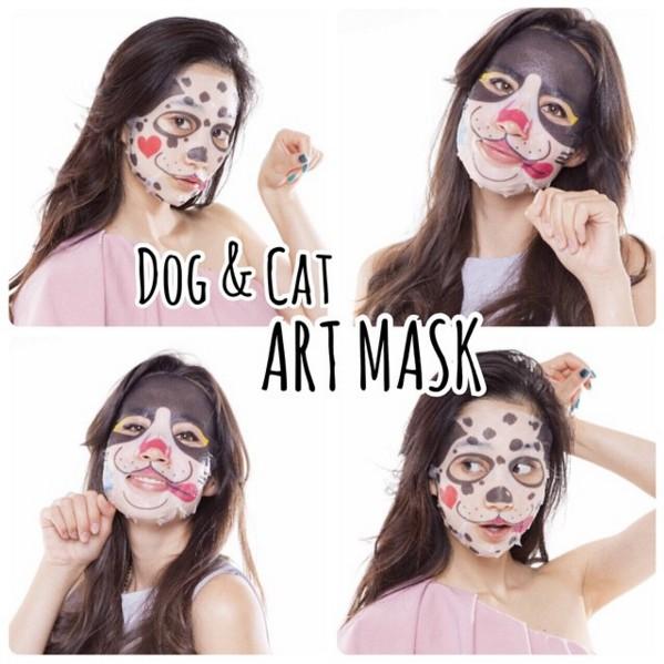 3 miếng mặt nạ dưỡng da hình chó Gon Pure Smile Dog&Cat