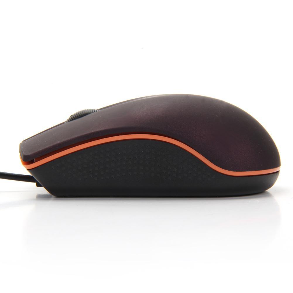 Chuột quang mini có dây USB 3D cho máy tính