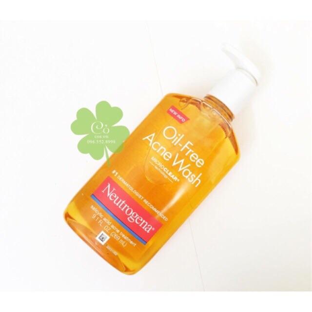 [Chiết] Sữa Rửa Mặt Neutrogena Oil Free