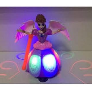 Đồ chơi công chúa xoay, công chúa xoay 360 độ( có video+kèm pin)