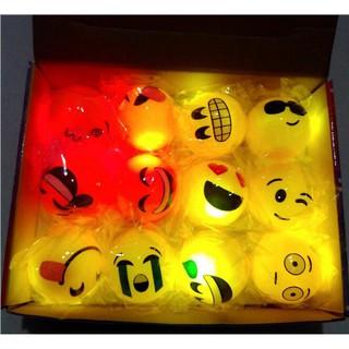 Light-Up Balls LED Flashing Emoticon Emotion Sensory Fun Toy